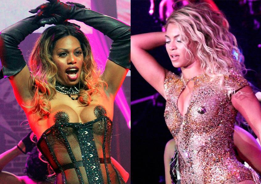 Лаверна Кокс Laverne Cox Orange is the new black Beyonce