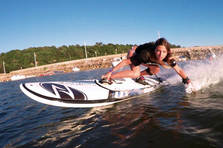 River jetsurfing