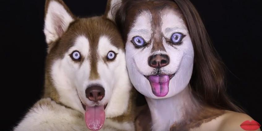 Husky Makeup