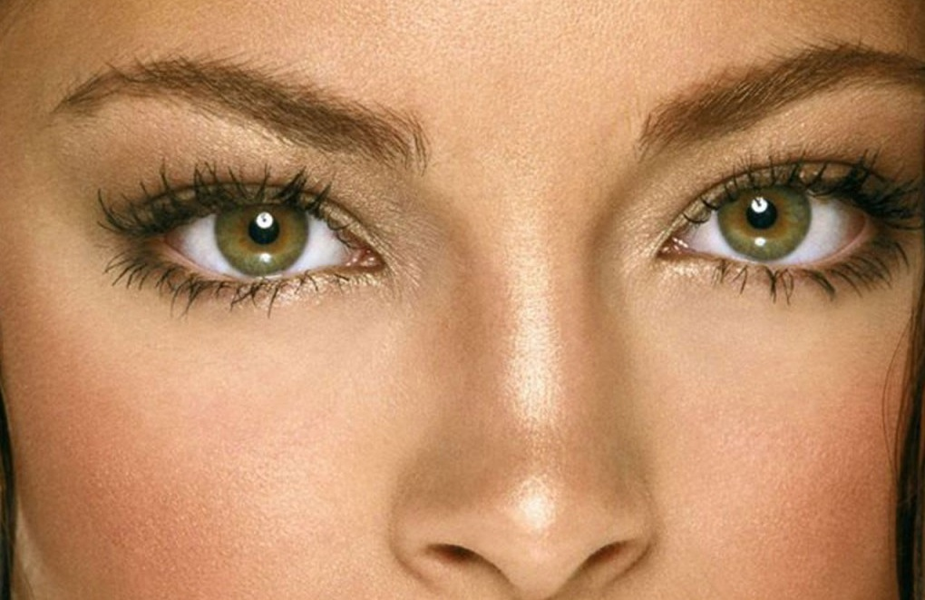 Глаза янтарные макияж