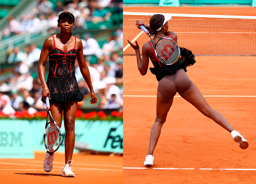 Под юбкой теннисисток фото 69-461