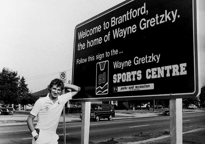 wayne gretzky brantford