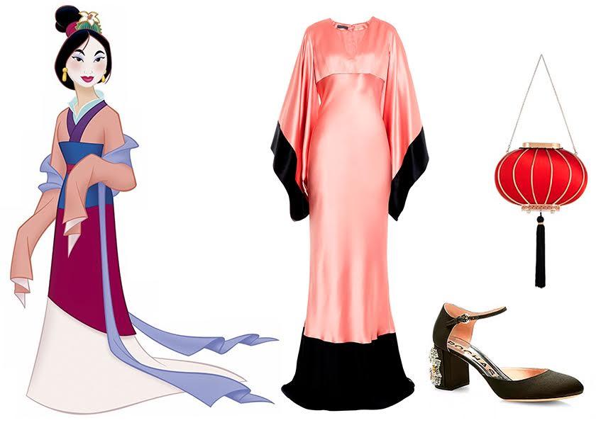 Платье Alexander McQueen; Tуфли Rochas; Клатч Charlotte Olympia