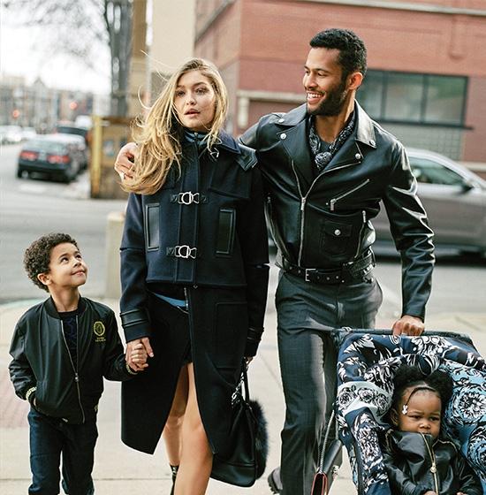orig 1ad78c66c9637921c4977095ddb71c92 - Модели Джиджи Хадид и Карли Клосс стали мамами в новой рекламной кампании Versace.