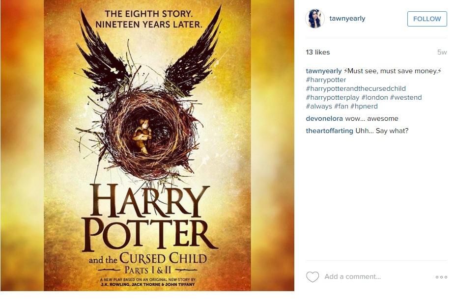 восьмая часть гарри поттера Назначена дата выхода восьмой части «Гарри Поттера»