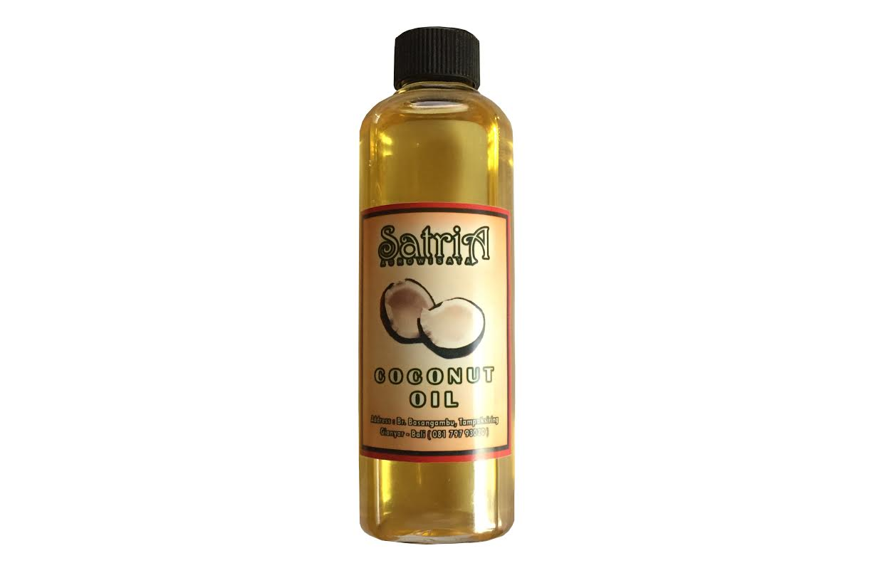 Satria Agrowisata coconut oil