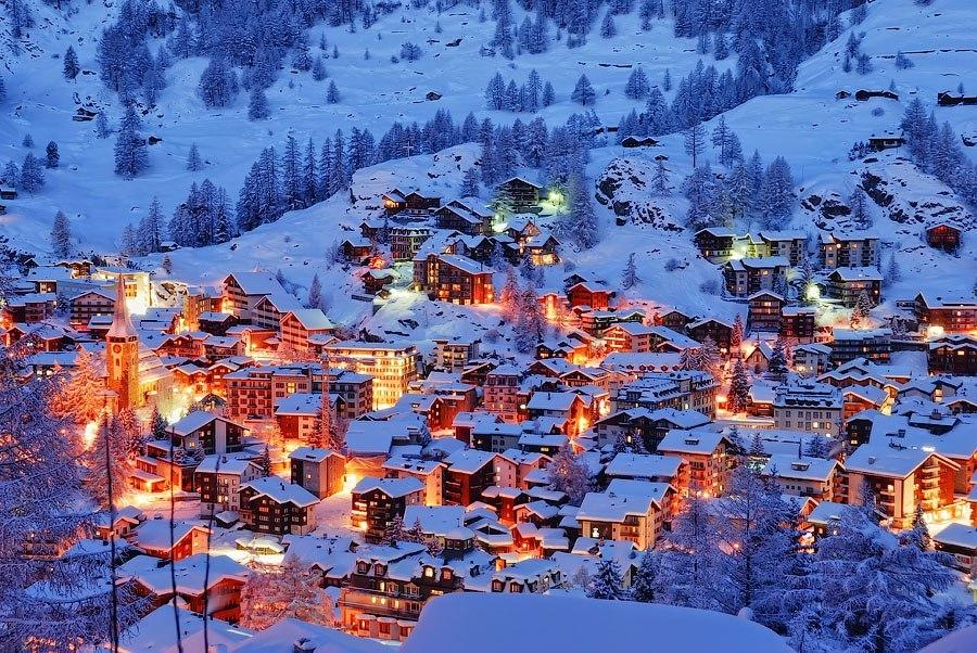 Самый красивый горнолыжный курорт в мире фото