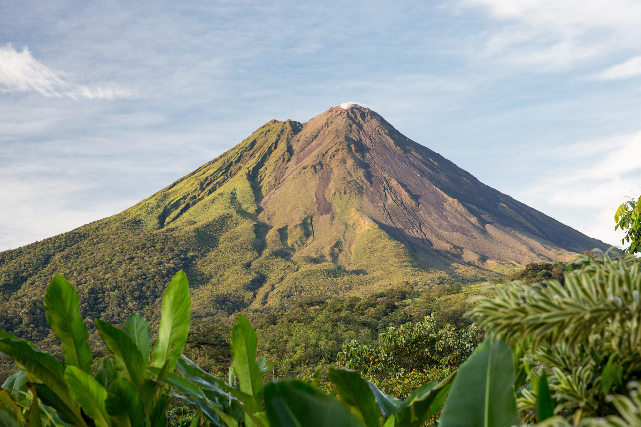 an exhilarating adventure of hiking up volcano arenal