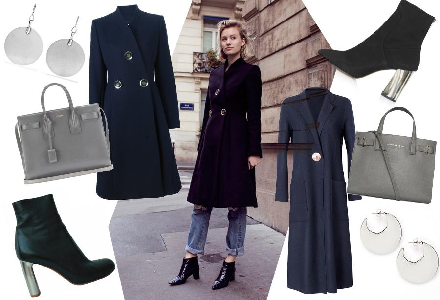 Дорого/доступно: синее пальто Stella Mccartney