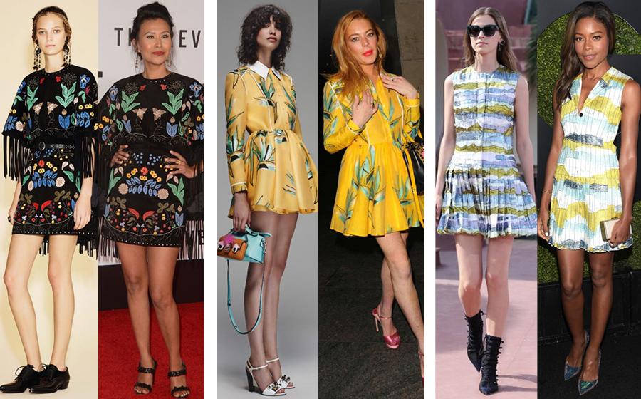 На подиуме и в жизни: платья на весну
