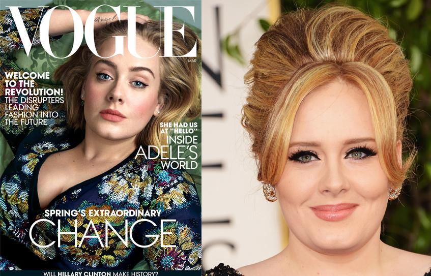 Vogue Адель