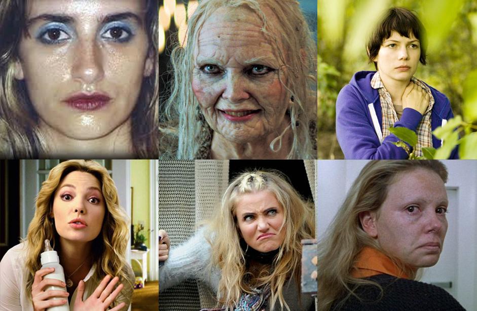 сексуальные актрисы в образе уродин