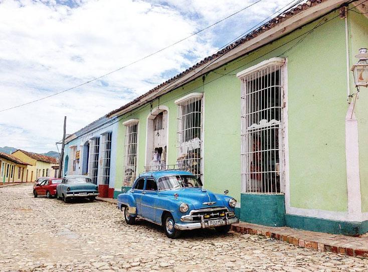 Алина Крюкова о Кубе
