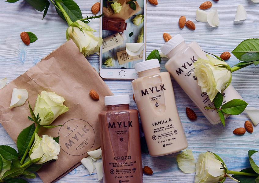 MYLK, миндальное молоко
