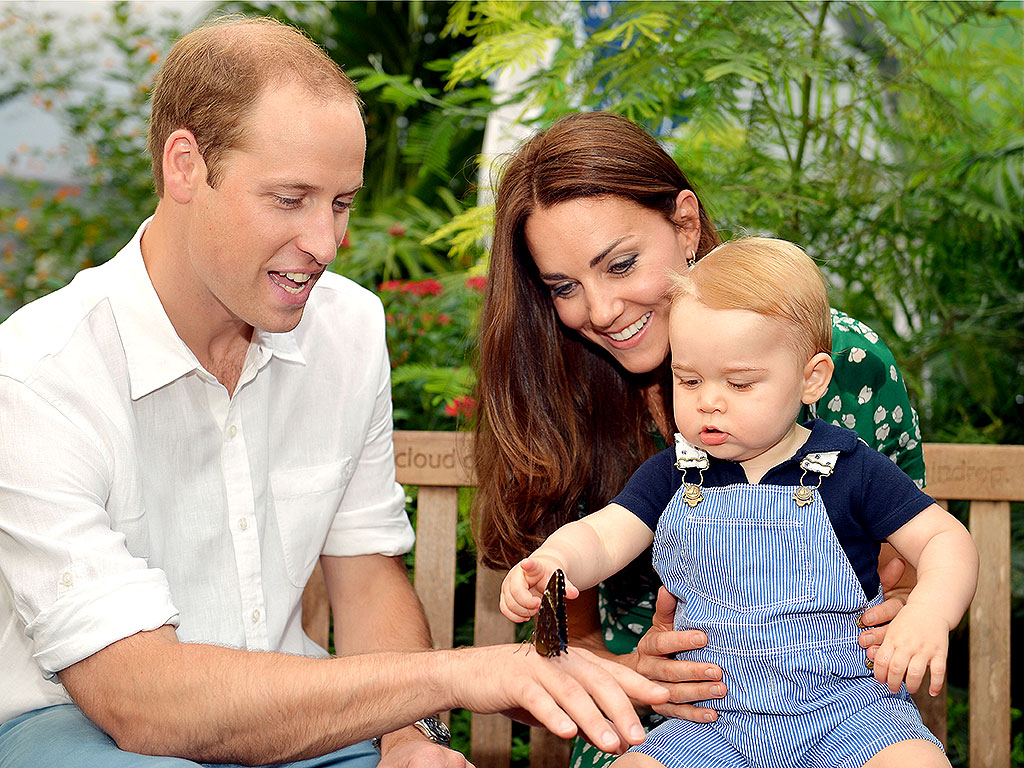 Кейт Миддлтон, принц Уильям, принц Джордж