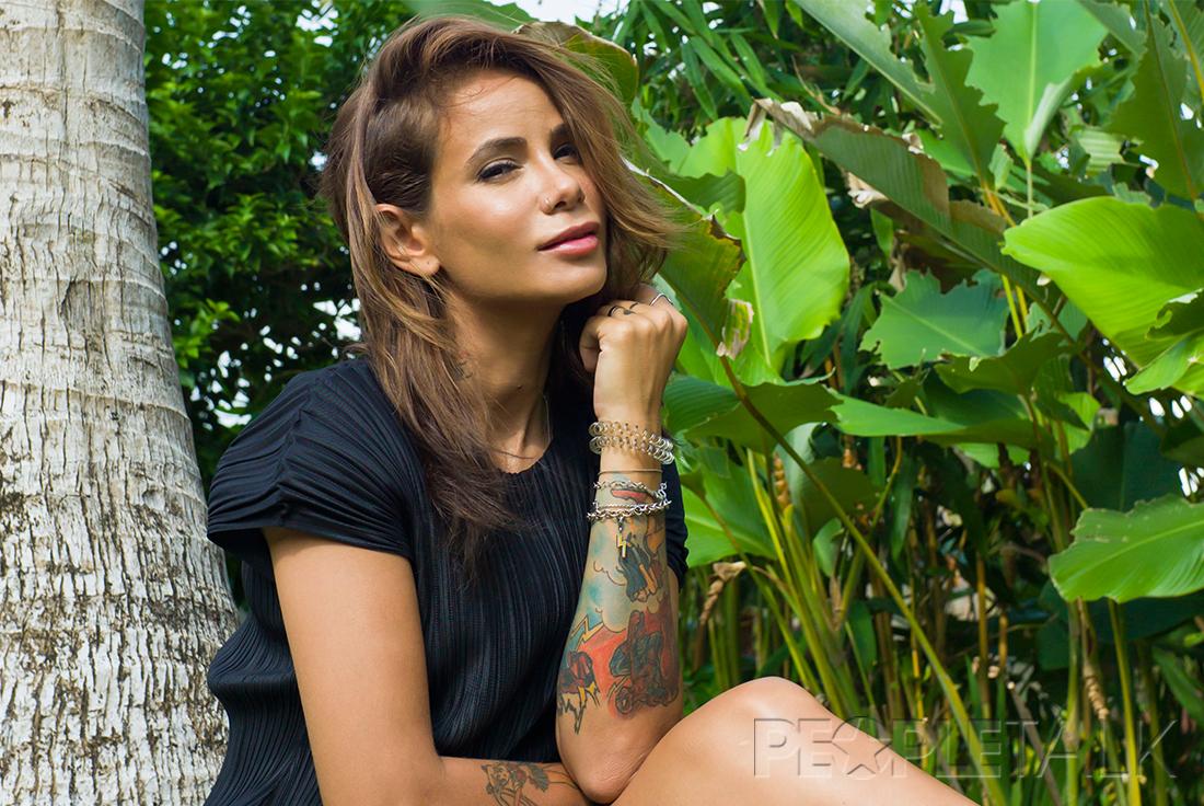 Айза Анохина Бали фотосессия