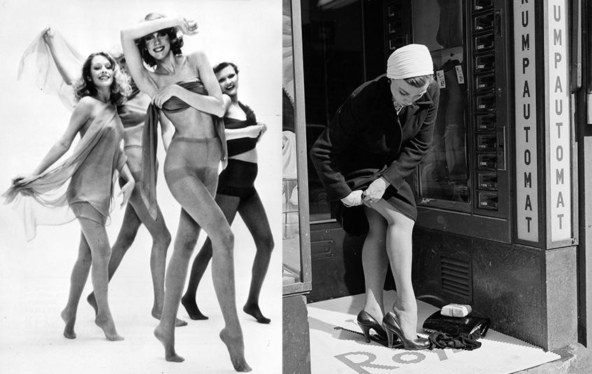 Картинки голых девушек в капроновых колготках черного цвета — photo 14