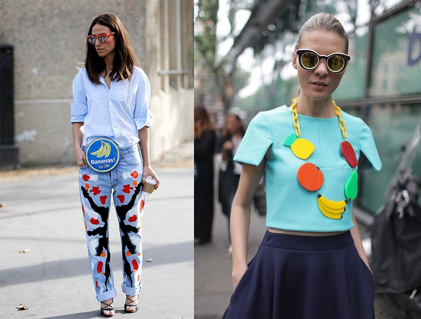 тренды, тренд, банан, принт, мода, fashion, street style, сумка, хочу/могу, лето, весна, желтый, свитер, рубашка