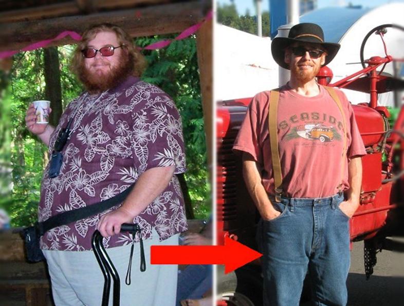 как похудеть молодому человеку