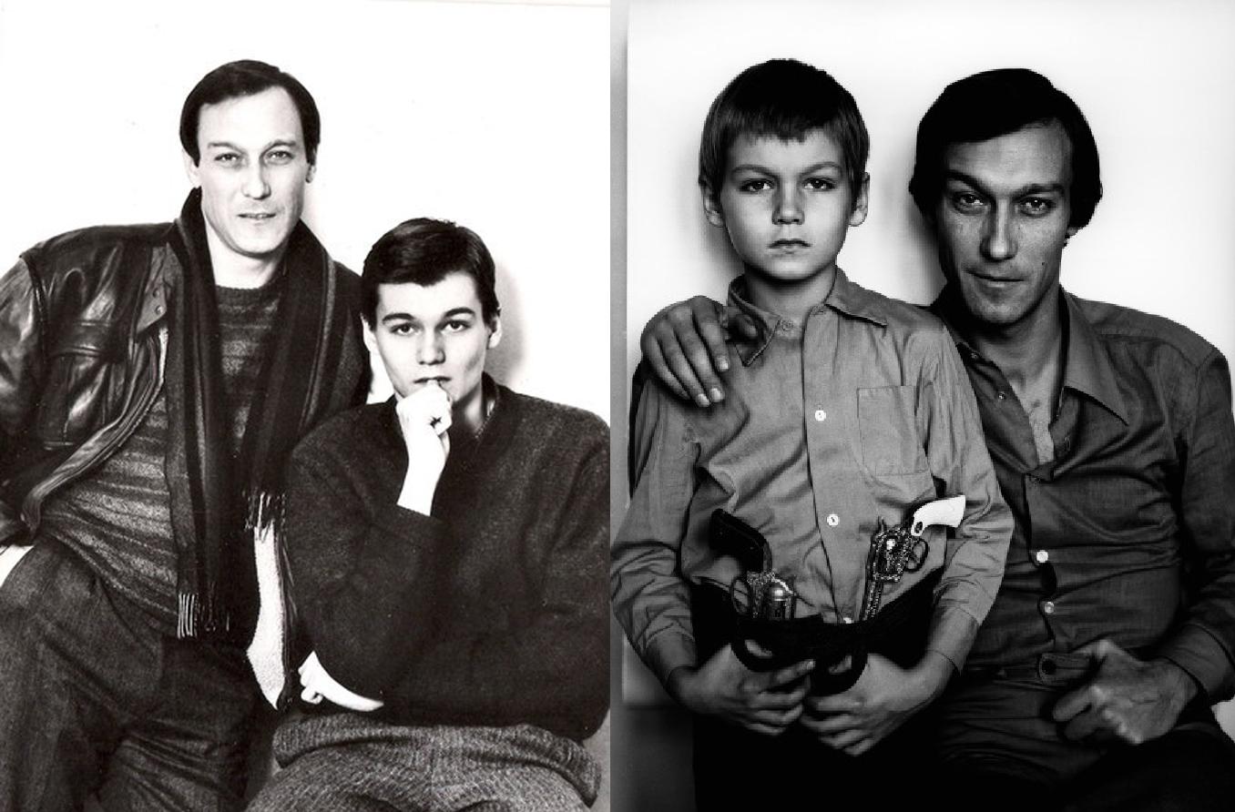 янковский олег фото с семьей система