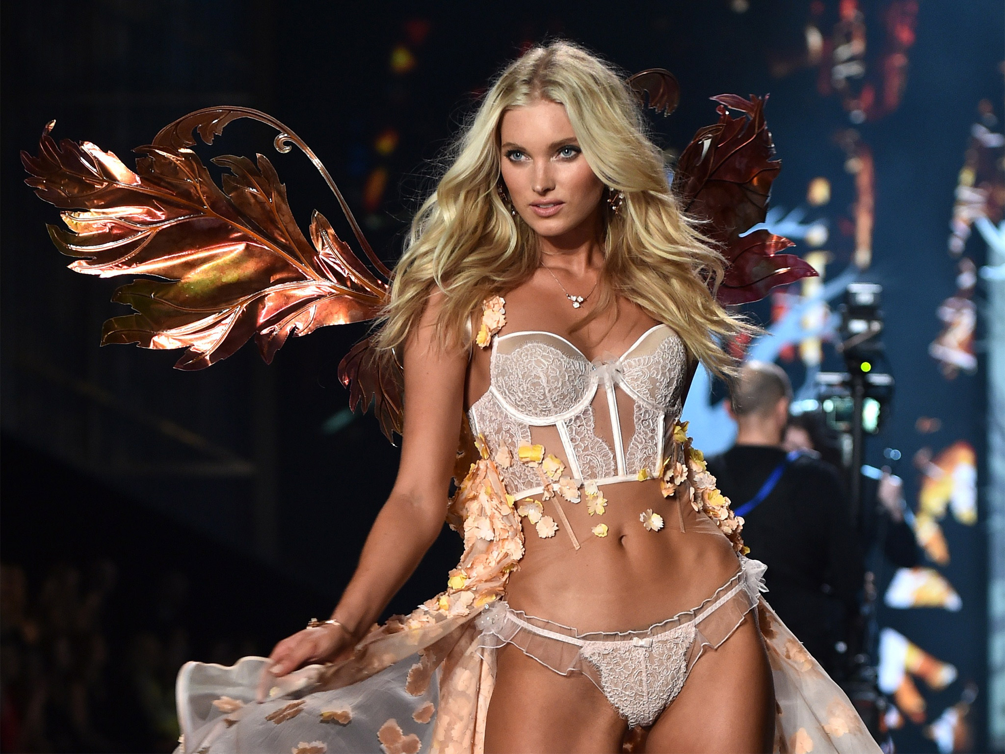 the beauty of victorias secret So when this year's victoria's secret fashion show was making headlines, dove decided to challenge the beauty standards of the lingerie brand jamie mccarthy / getty images and, well, the world.