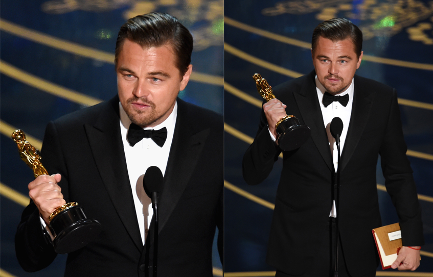 Леонардо Ди Каприо забыл «Оскар» в ресторане!