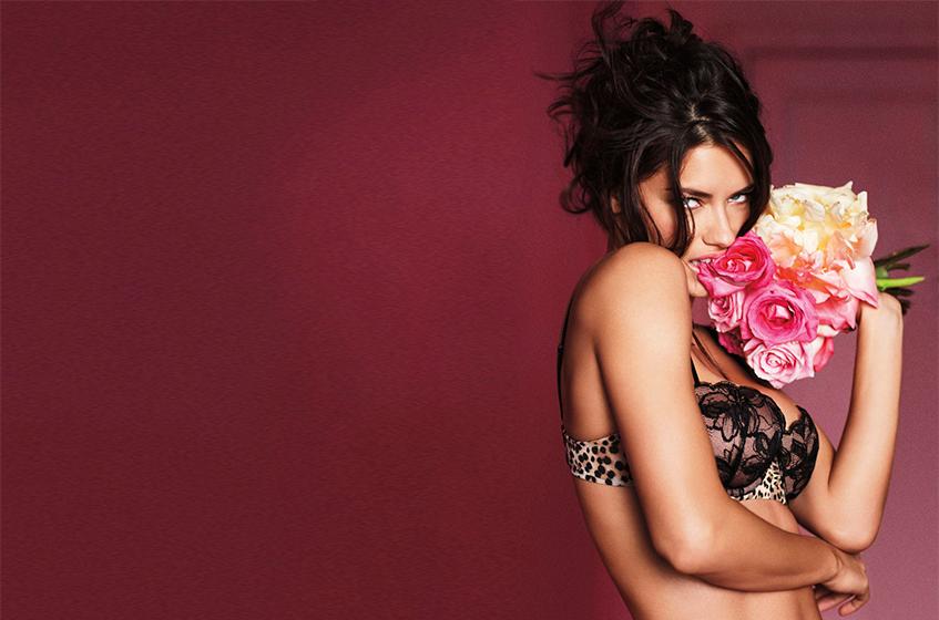 Адриана Лима (Adriana Lima) Victoria's Secret Valentine's Day