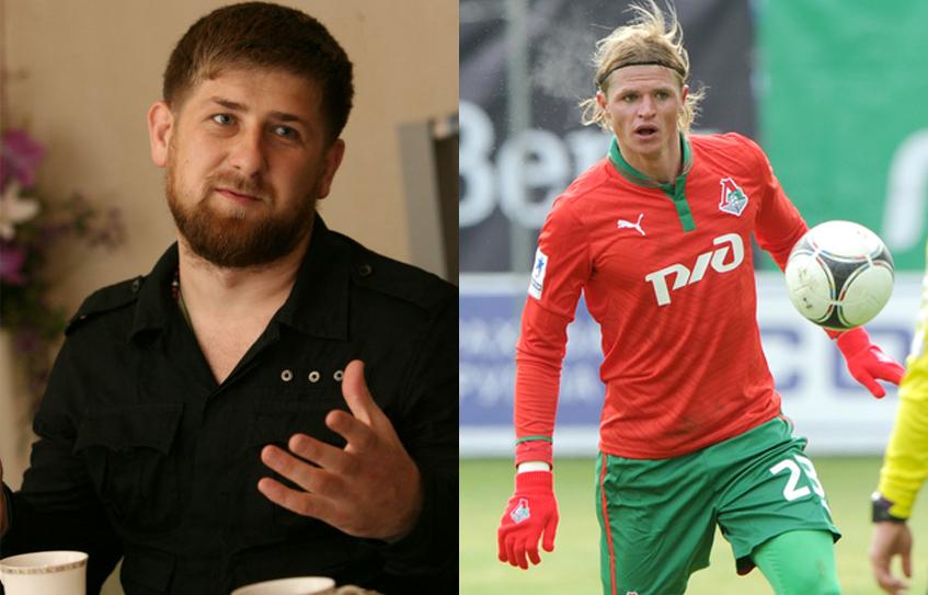 Кадыров пригласил Дмитрия Тарасова играть за «Терек»