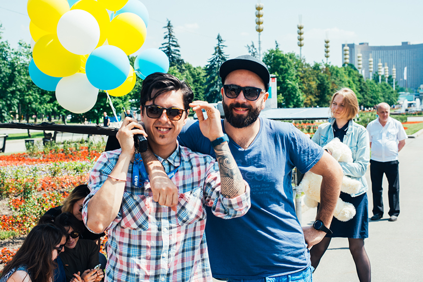 Олег Трофим и Михаил Милашин