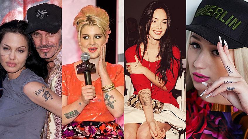 От каких татуировок и почему избавляются звезды
