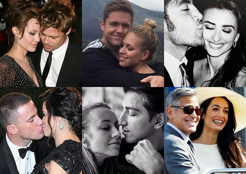 Знаменитые мужчины, которые безумно любят своих жен
