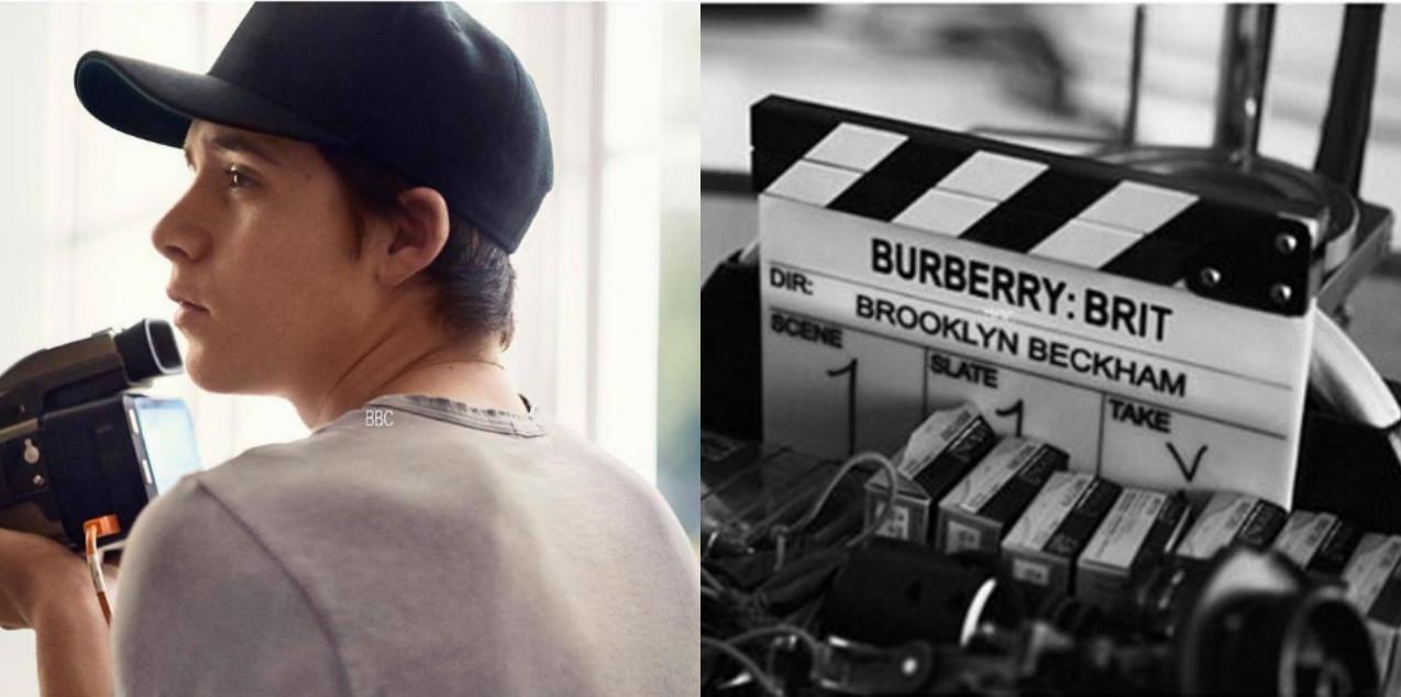 Burberry Brit Бруклин Бекхэм