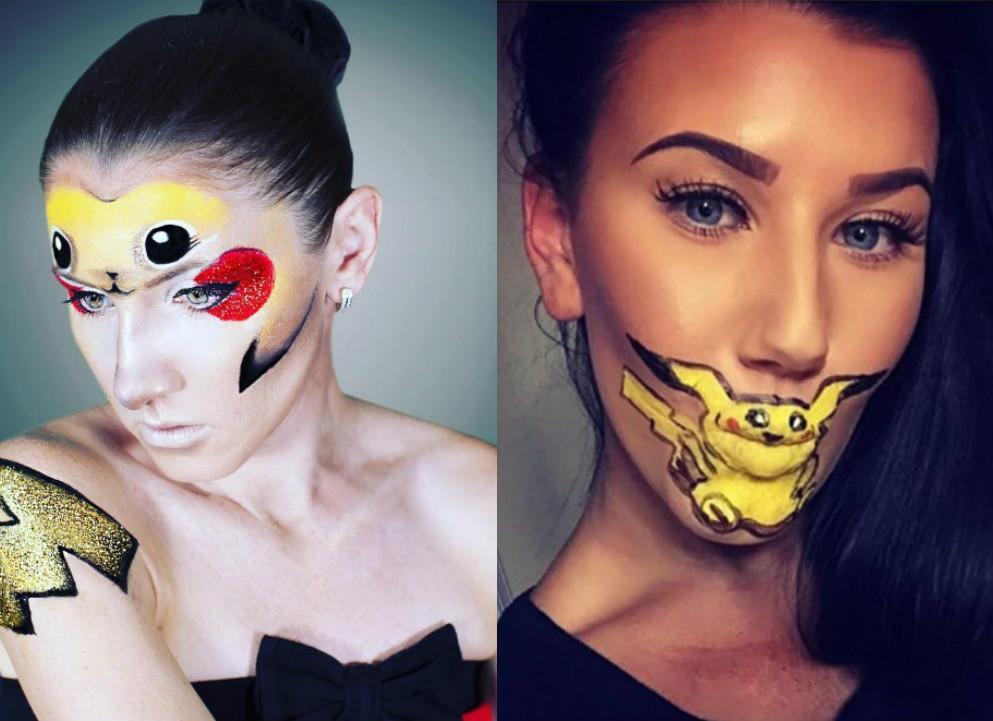 макияж с покемонами