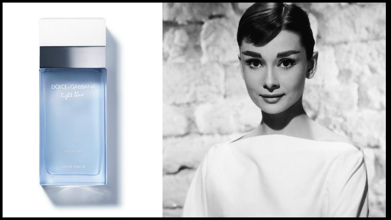 Light Blue Love in Capri Dolce & Gabbana Одри Хепбёрн