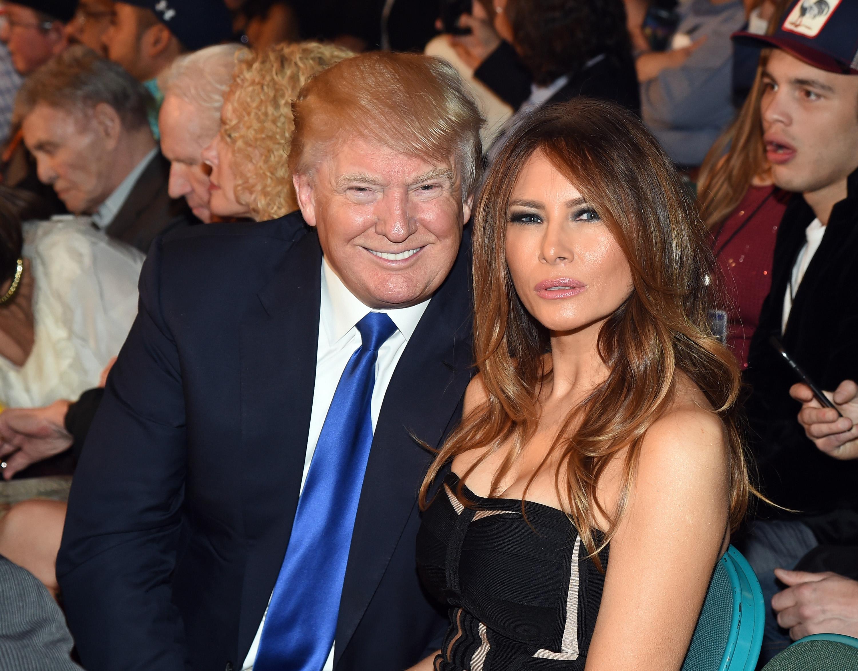 Картинки по запросу дональд трамп и его жена