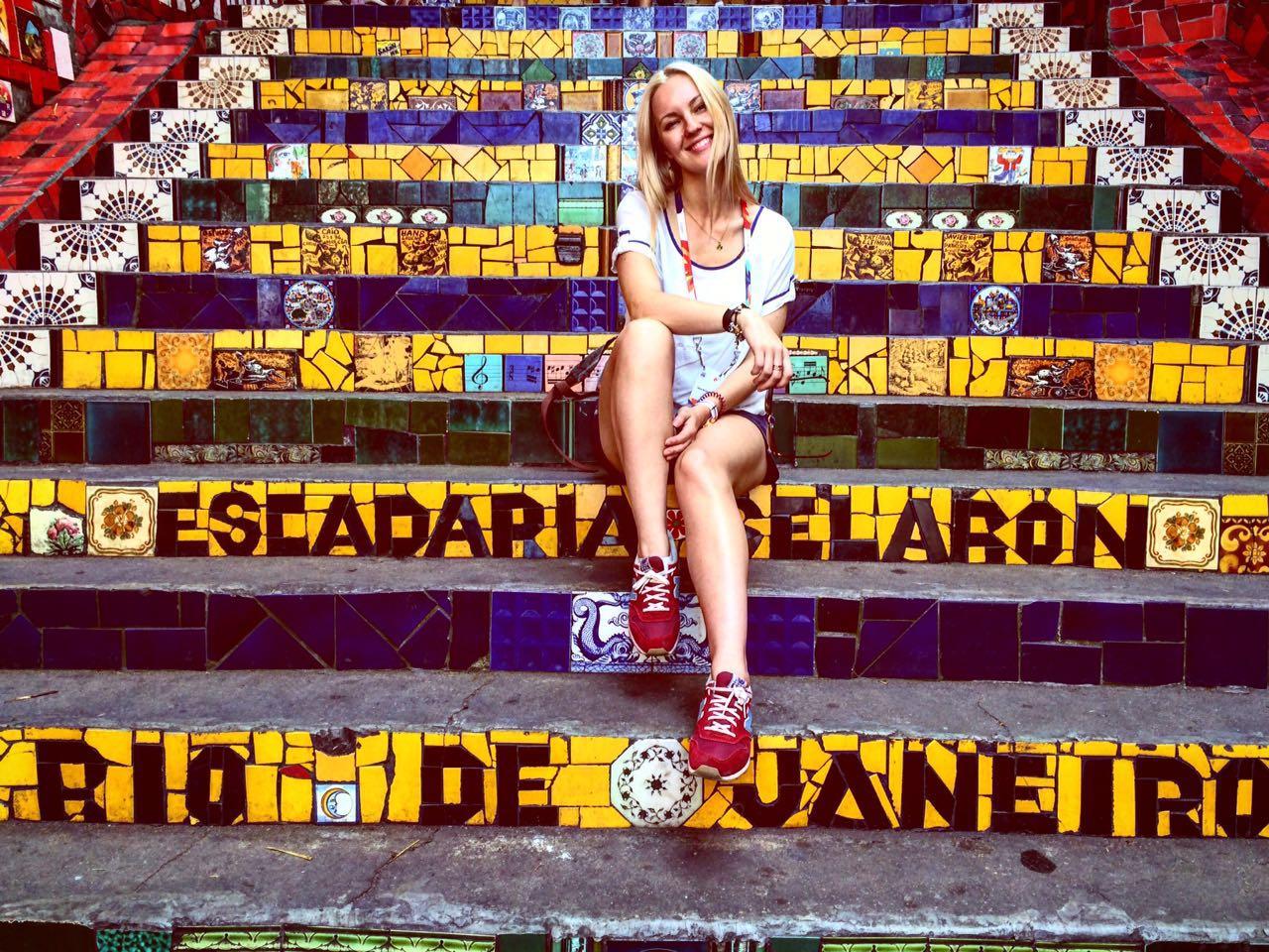 Яна Крайнова в Рио