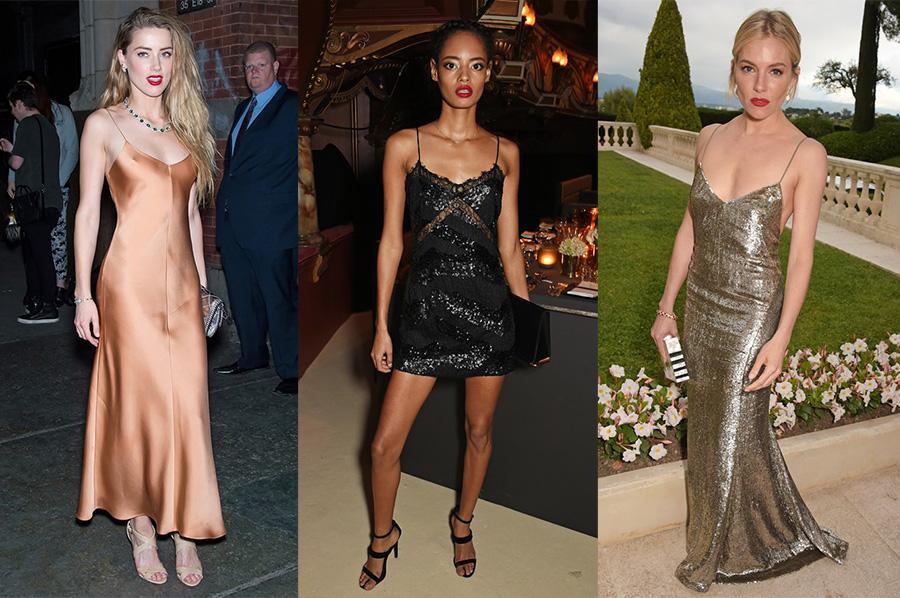 Как правильно носить платье-комбинацию