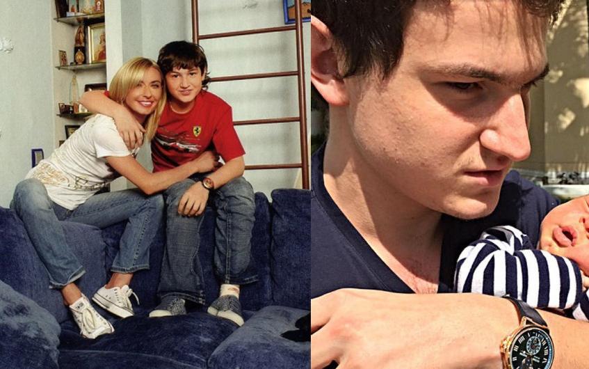 Татьяна Овсиенко с внуком