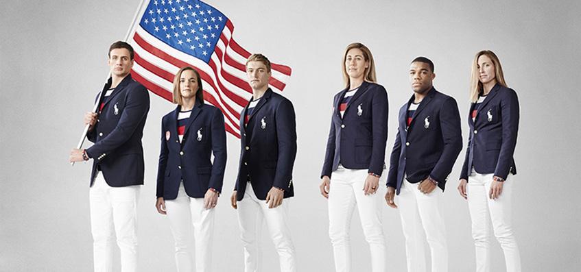 форма США олимпиада
