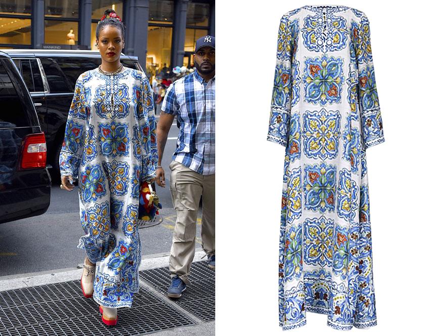 Сколько стоит: платье Рианны