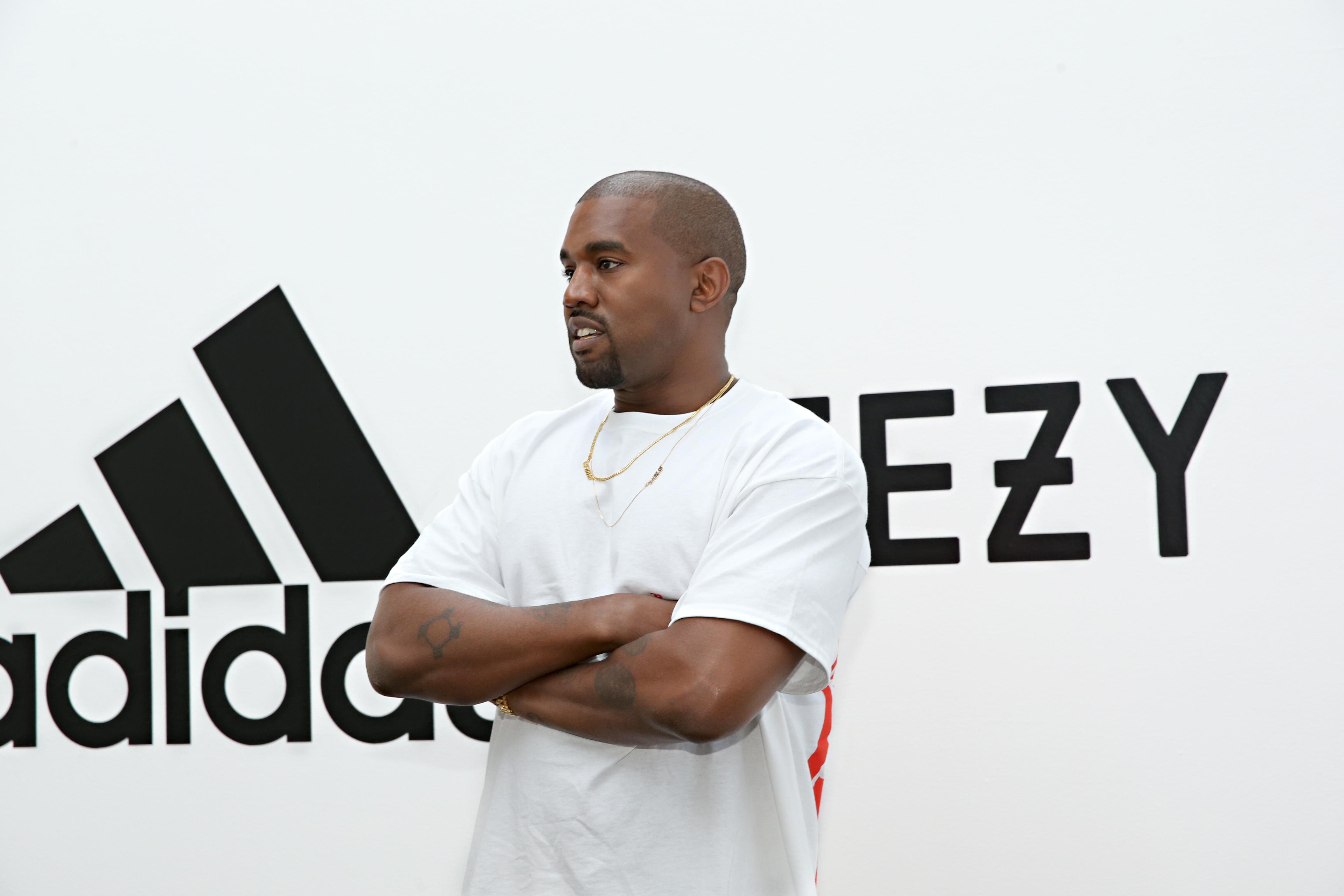 Новый контракт adidas и Канье Уэста