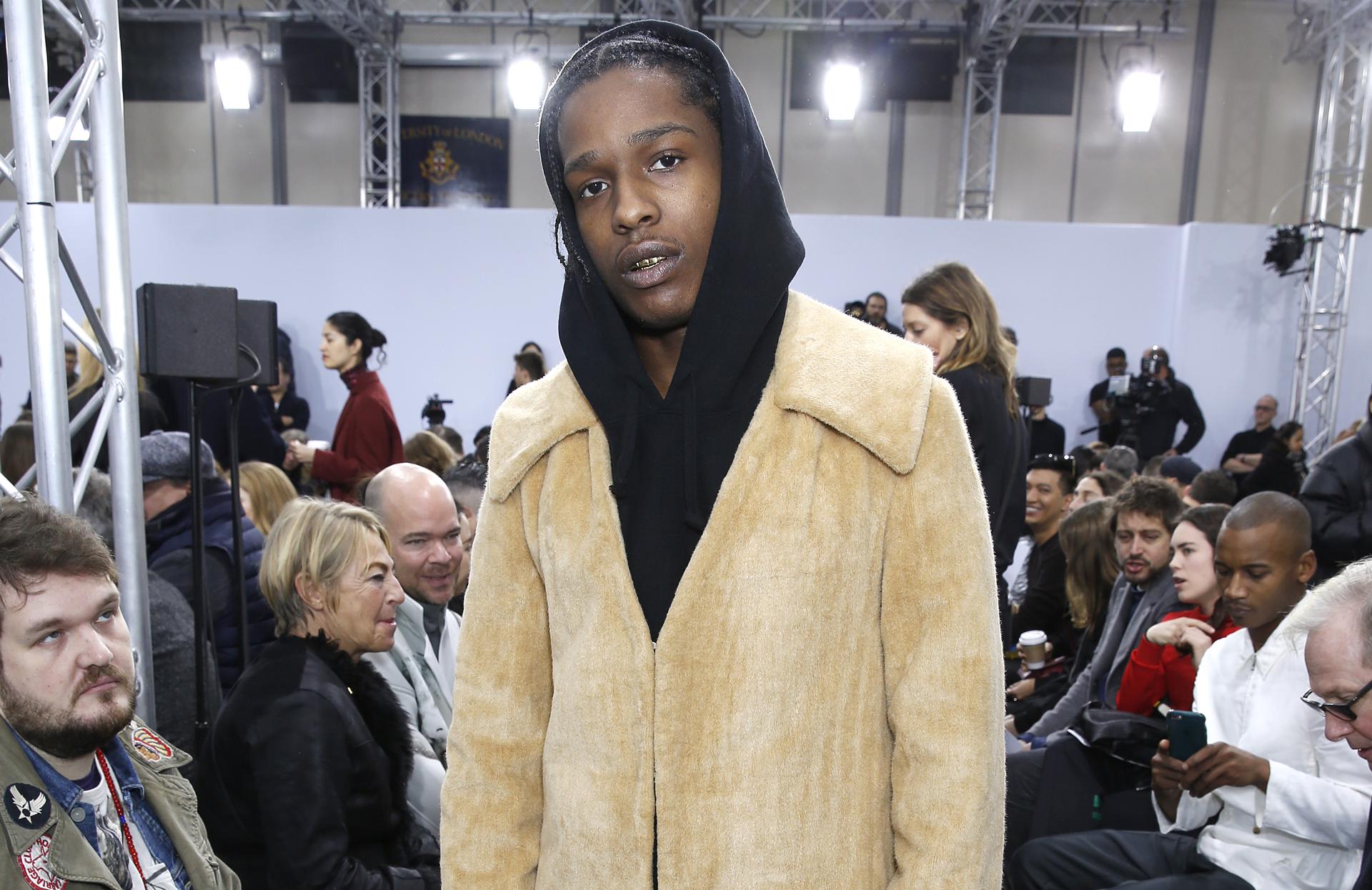 Рэпер A$AP Rocky выпустил коллекцию одежды