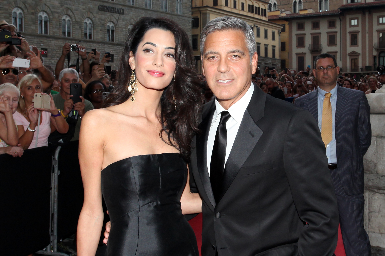 Джордж Клуни и Амаль