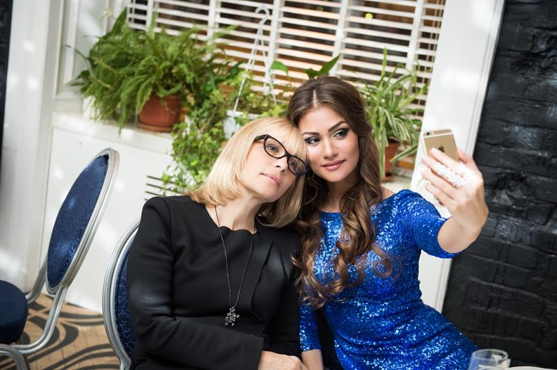 Вера Глаголева и Анастасия Шубская