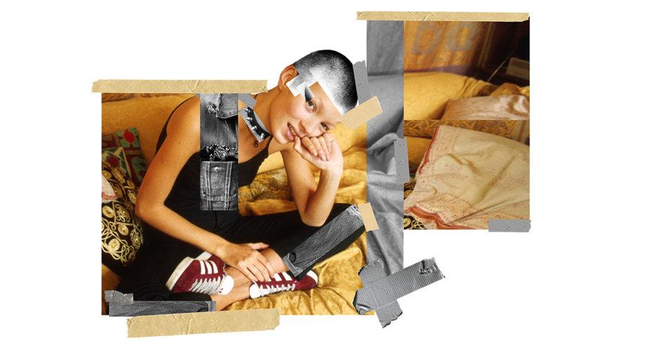 Instagram-художник сделал проект с Кейт Мосс для adidas Originals