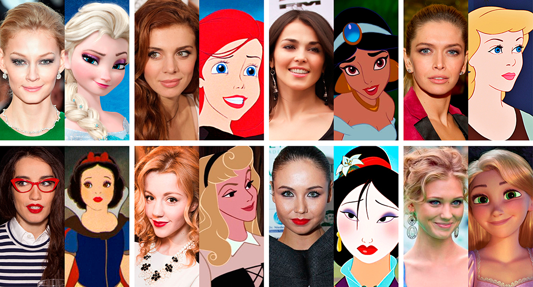 Русские звезды, которые похожи на диснеевских принцесс