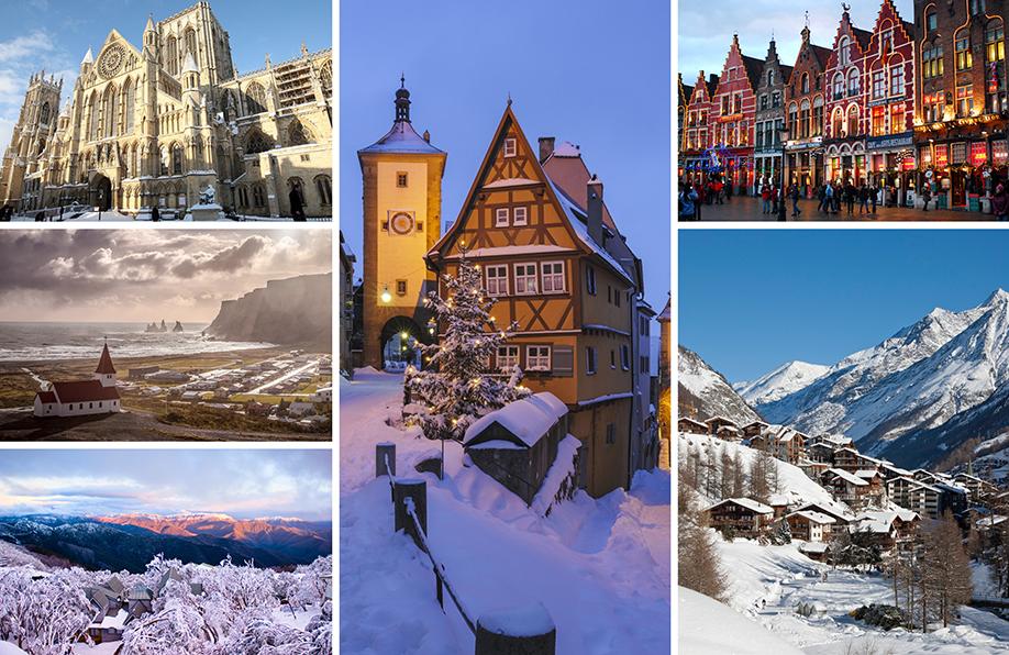 города, посетить зимой