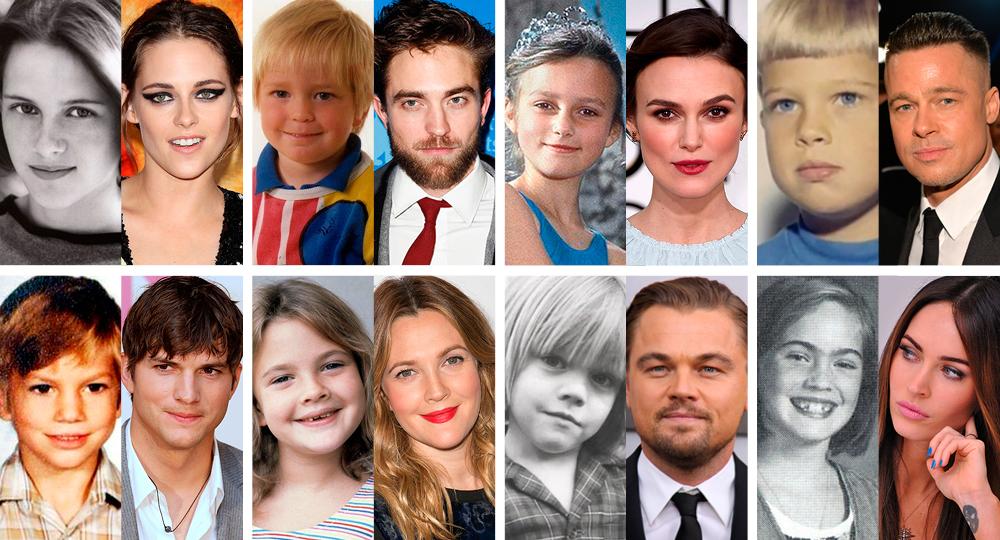 Голливудские звезды в детстве и сейчас