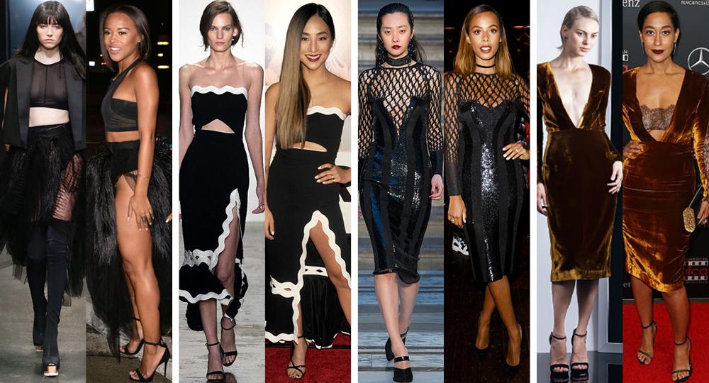 На подиуме и в жизни: коктейльные платья