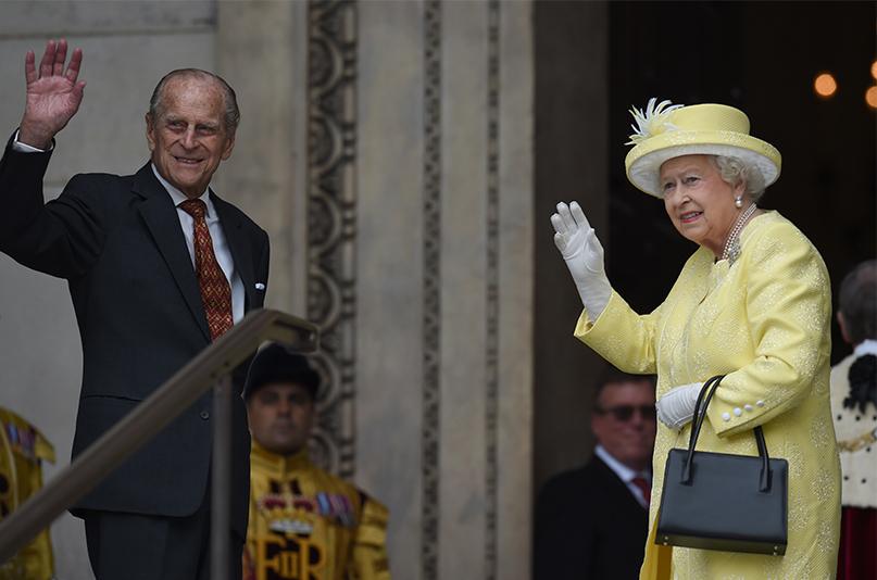 Принц Филипп и Елизавета